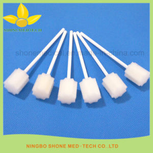 Dental Equipment Sticky Foam Pads Medical Sponge on a Stick pictures & photos