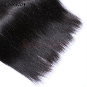 Brazilian Straight Virgin Hair Cheap Brazilian Human Hair Silky Straight Weave (SL-HE6A005) pictures & photos