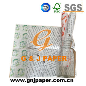 Moderate Price Grease Proof Paper with Customized Logo pictures & photos
