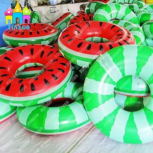 Watermelon Lounger Floating Raft Swimming Ring Inflatable Pool Float pictures & photos