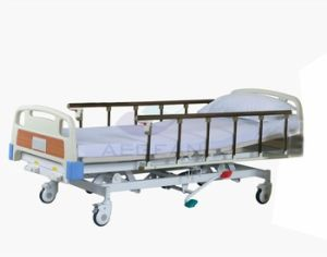 3-Function Hospital Hydraulic Bed pictures & photos