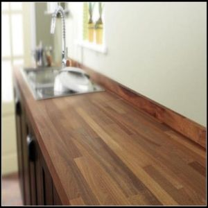 E0 Standard American Walnut Wood Worktops pictures & photos