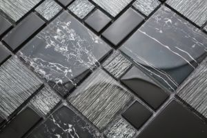 Decorative Glass Crystal Mosaic Tile on Promotion (ZAJT3001) pictures & photos