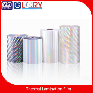 Manufacturer Hot BOPP Metalized Hologram Thermal Lamination Film with High Quality pictures & photos