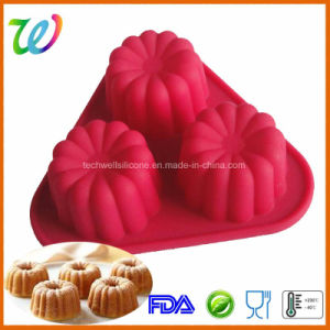 Factory Selling Non-Stick Silicone But Luli Cake Pop Mould