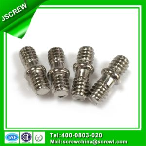 Customized Nickel Plated Stub Special Screw with Washer pictures & photos