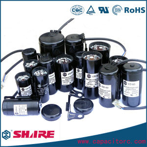 CD60 AC Motor Start Capacitor with Bakelite Body pictures & photos