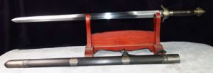Long Quan Jian/9260 Steel Cutting Jian Sword pictures & photos