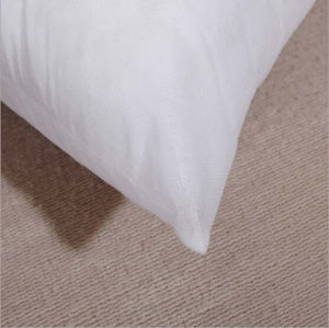 Solid White Home Decorative Square Bed Pillow pictures & photos