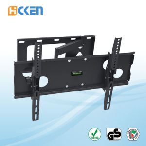 Hot Sell Ultra Slim Powder Coat Finished Flat Screen Swivel TV Wall Bracket  pictures & photos