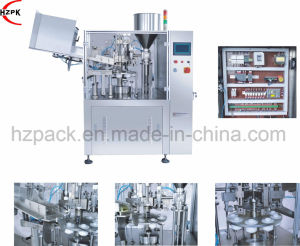 Automatic Liquid/Paste Filling Sealing Machine for Metal Tube Filler/Sealer pictures & photos