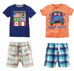 Wholesale Custom High Quality Cotton Sport Suit for Kids (A701) pictures & photos