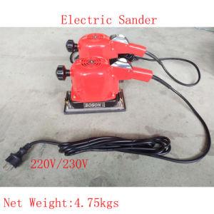 220V-230V Portable Electric Wood Polisher Sander Power Orbital Sander Orbital Sander pictures & photos