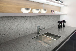 Quartz Stone Vanity-Top for Kitchen and Bathroom Counter-Top pictures & photos