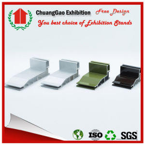 Chuanggao Factory --Double Sided Fabric Aluminium Extrusion pictures & photos