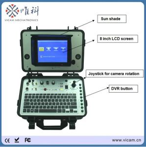 Pipe or Wall Tube Detector with 8 Inches Color TFT Screen 60-100m Cable V8-3388PT pictures & photos