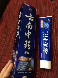Chinese Unique Herbal Toothpaste Spearmint Minty Relieve Swelling and Pain Dental Cream for Adult 180g/PCS pictures & photos