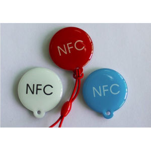 13.56MHz Passive RFID Epoxy Label Tag NFC Keyfob pictures & photos