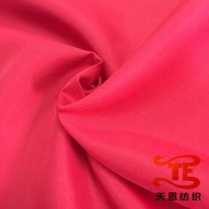 2/1 Twill 320t Full Dull Polyester Pongee Fabric Waterproof Fabric Twill Uniform Fabric pictures & photos