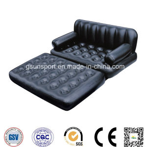 Inflatable Air Sofa Lounger Chair Pull-out Sofa Inflatable Bed