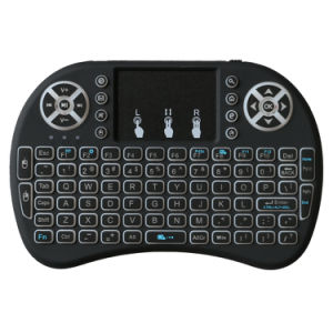 3 Colors I8 Mini Wireless Keyboard Backlit 2.4G Wireless Keyboard pictures & photos