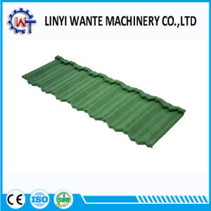 Chinese 1340X420X0.4mm Classic Stone Coated Nosen Roof Tiles pictures & photos