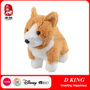 China Factory Custom Plush Toy Corgi Dog Stuffed Animal Toy pictures & photos