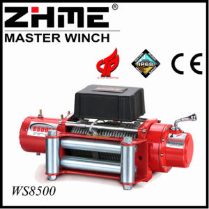 8500lbs 4X4 12V Electric Winch with Wire Rope pictures & photos