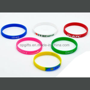Promotional Gifts Printing Silicon Hand Band pictures & photos