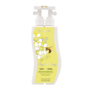 Dulenbe Honey & Moisturizing Shower Gel 240ml+240ml pictures & photos