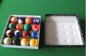 Luxurious Pool Billiard Table with Auto Return Ball System pictures & photos