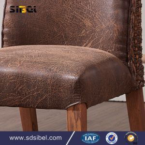 Antique Wood and Rattant Chair Sbe-Cy0310 pictures & photos