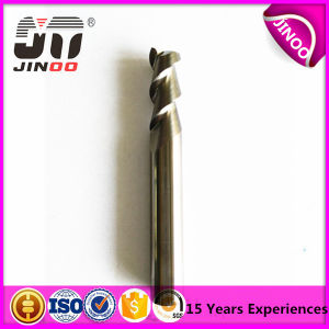 High Precison 2 Flute Uncoated Wood Carbide End Mill pictures & photos