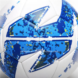 Premium Tournament Textured Surface PU Soccer Ball pictures & photos