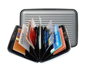 Business Credit Card Holder Women Aluma Wallet pictures & photos