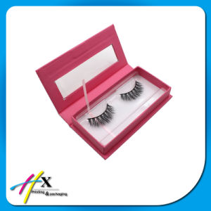 Custom Magnet Lid False Eyelash Packaging Box with Window pictures & photos