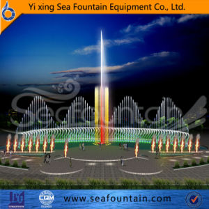 Various Water Type Multimedia Music Fountain with Water Screen Movie Fountain pictures & photos