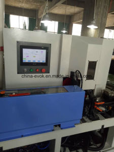 High Efficiency Picture Frame CNC Auatomatic Dual Saw Cutting Machine pictures & photos