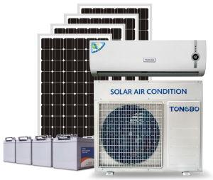 DC24V Split Type 100% Solar Air Conditioner 18000BTU pictures & photos