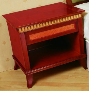 Wooden Mindi Nightstands 2 Drawers Retro Style pictures & photos