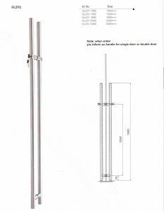 Stainless Steel Pull Handle with Lock pictures & photos