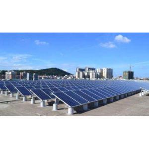 Haochang Brand Solar Home System Mounted on Tilted Rooftop Serving Power to House pictures & photos
