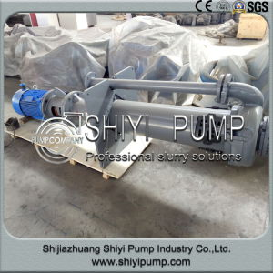 Extra Long Shaft Vertical Centrifugal Sump Pit Slurry Pump pictures & photos
