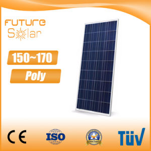 Futuresolar High Power 150W Poly Solar Panel for House Roof pictures & photos
