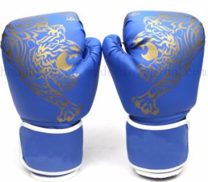 Custom Print Logo Hot Sale PU Sport Taekwondo Boxing Glove pictures & photos