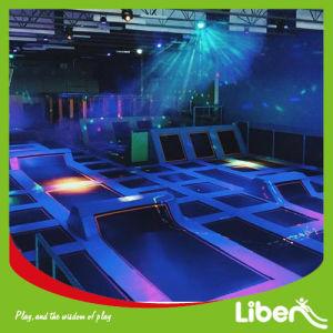 Commercial Night Indoor Trampoline with Ninja Warrior pictures & photos