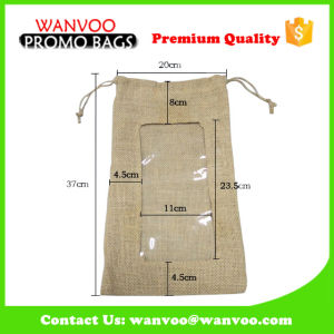Single Wine Bottle Drawsting Bag for Gift & Party pictures & photos