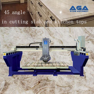 Stone/Marble/Granite Automatic Bridge Saw for Sawing Stone Slabs (XZQQ625A) pictures & photos
