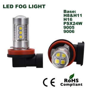 Aftermarket Refitting LED Auto Lamp H8 9006 LED Fog Light pictures & photos