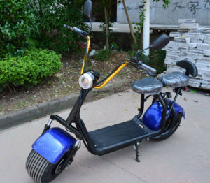 800W Electric Kick Scooter with F/R Suspension, 2 Seats pictures & photos